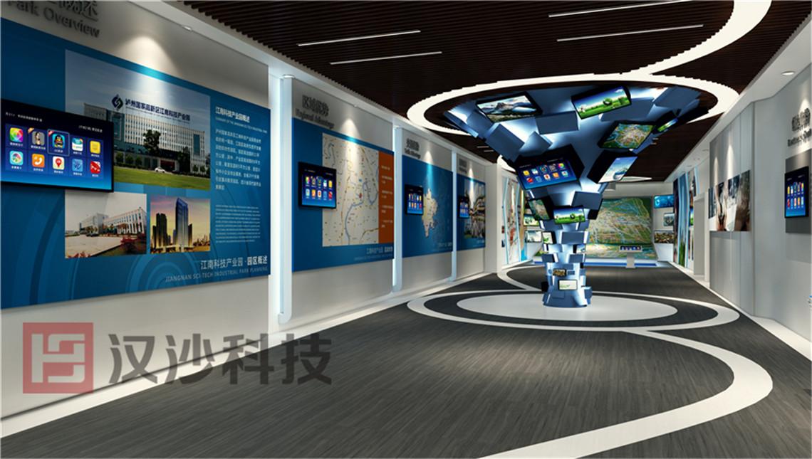 泸州高新区数字展厅